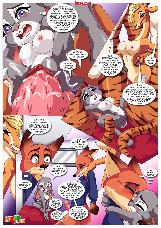 Comic zoomania porn Zootopia